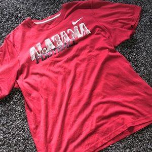 Nike Alabama Football T shirt